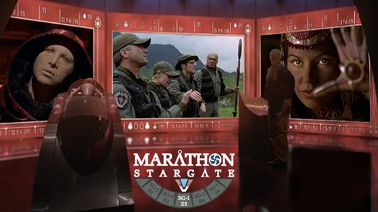 Image de la saison 3 du Marathon Stargate