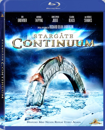 Stargate Continuum - Couverture Finale BluRay
