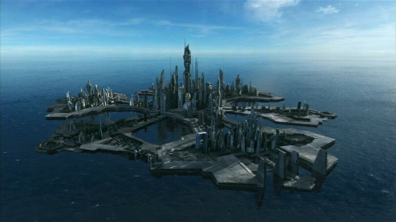 Lancement de la section Stargate Atlantis