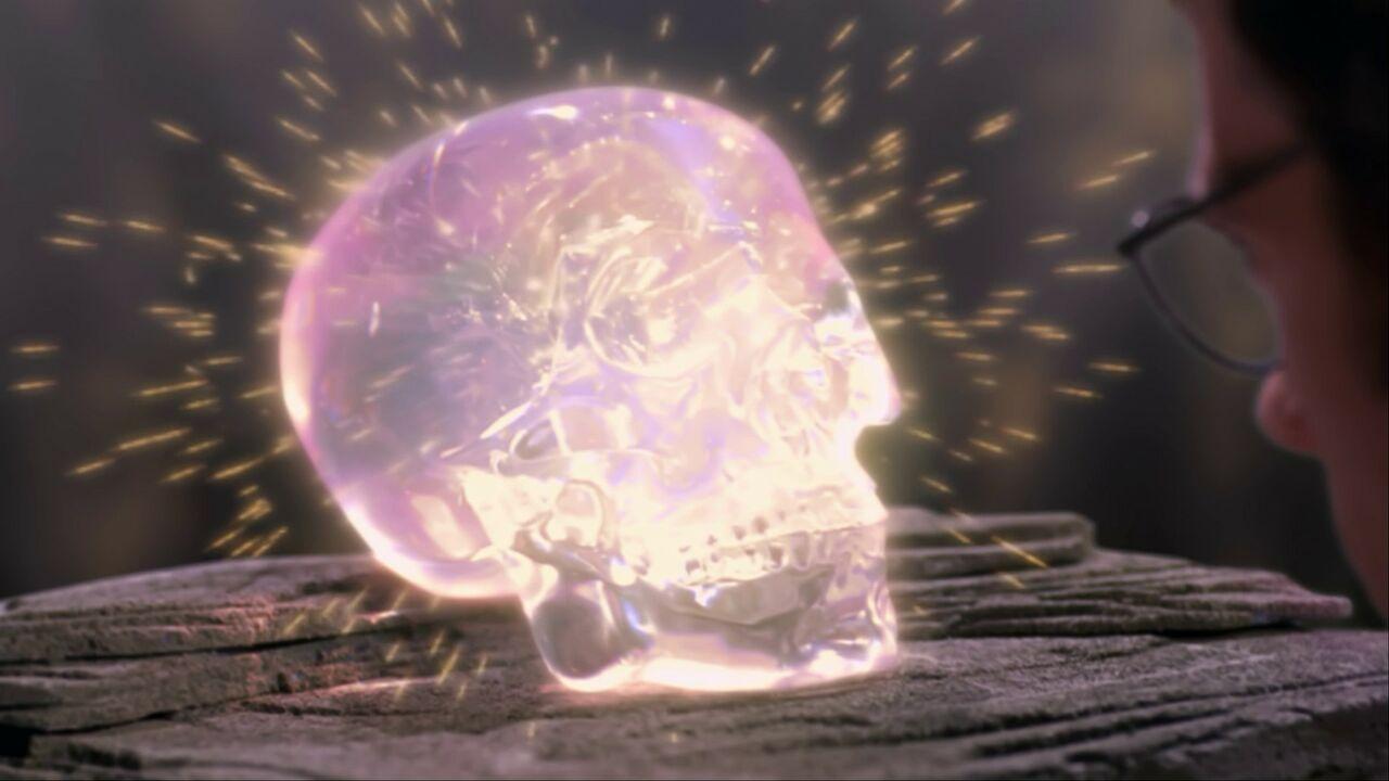 Le crâne de cristal