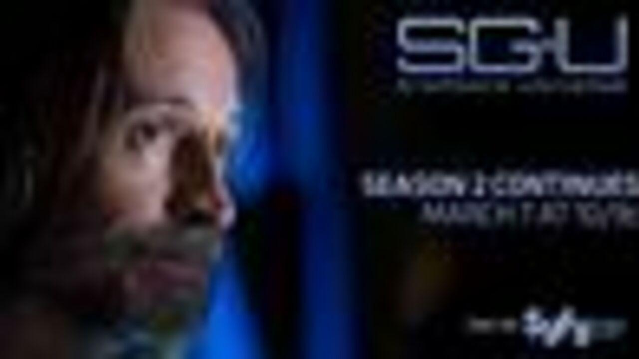 Stargate Universe revient le 7 mars sur SyFy