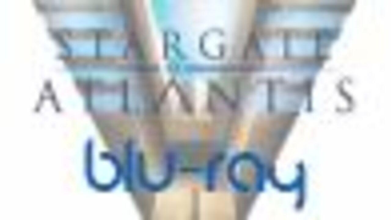 Couverture Blu-Ray de Stargate Atlantis