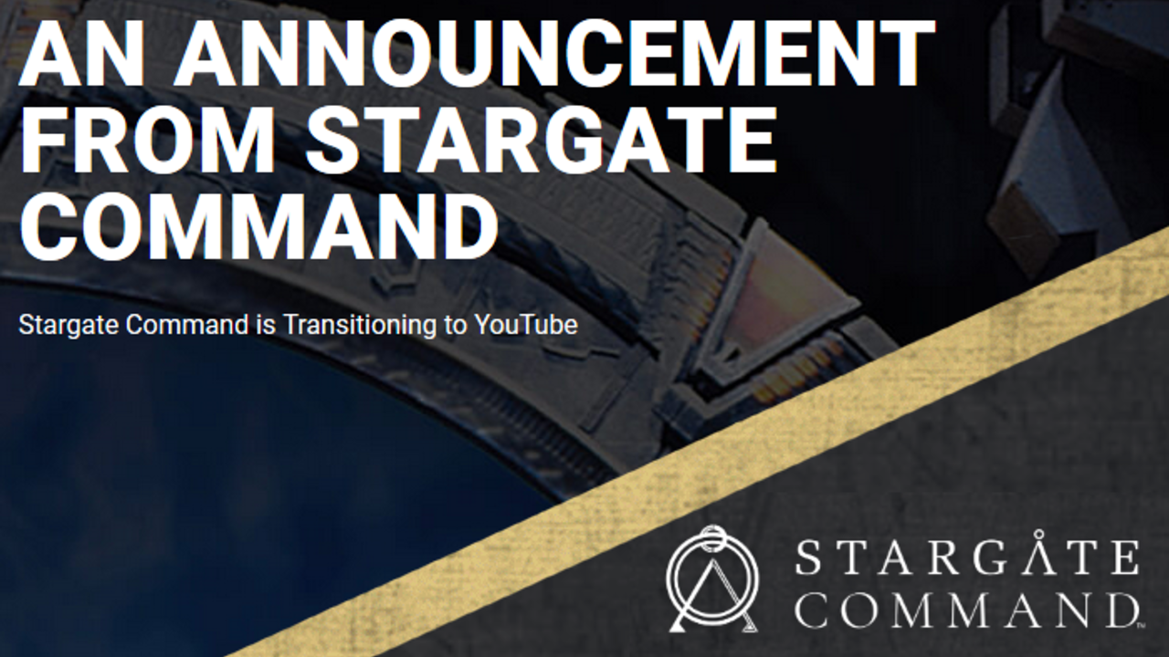 Le Stargate Command ferme ses portes