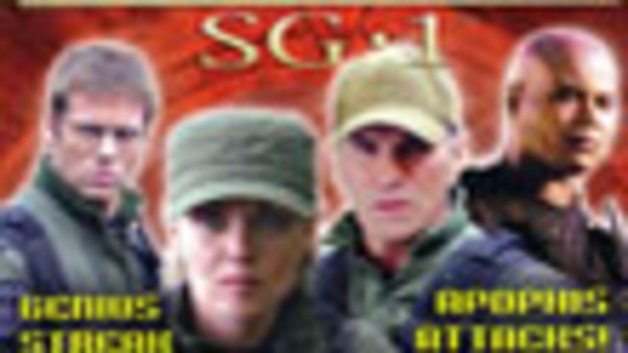 Sortie du magazine officiel de Stargate Sg-1
