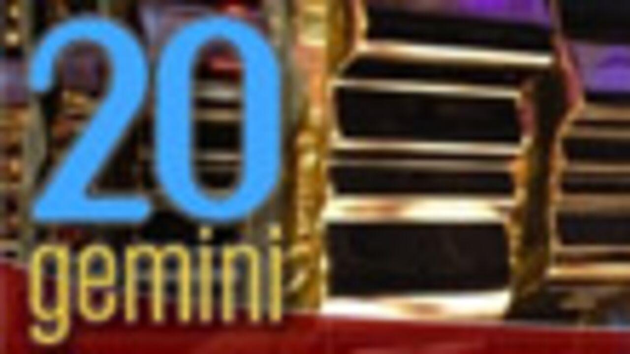 Résultats des Gemini Awards
