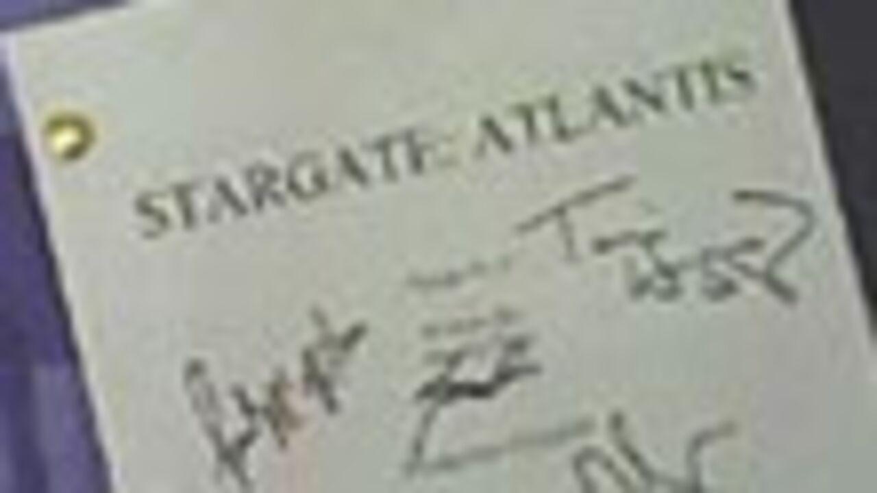 Script Stargate à vendre sur Ebay.