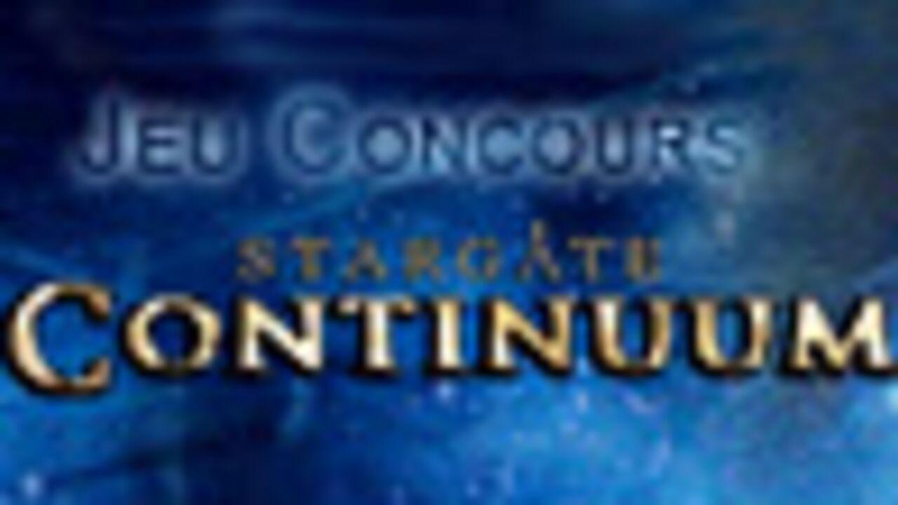 Jeu concours : Stargate : Continuum