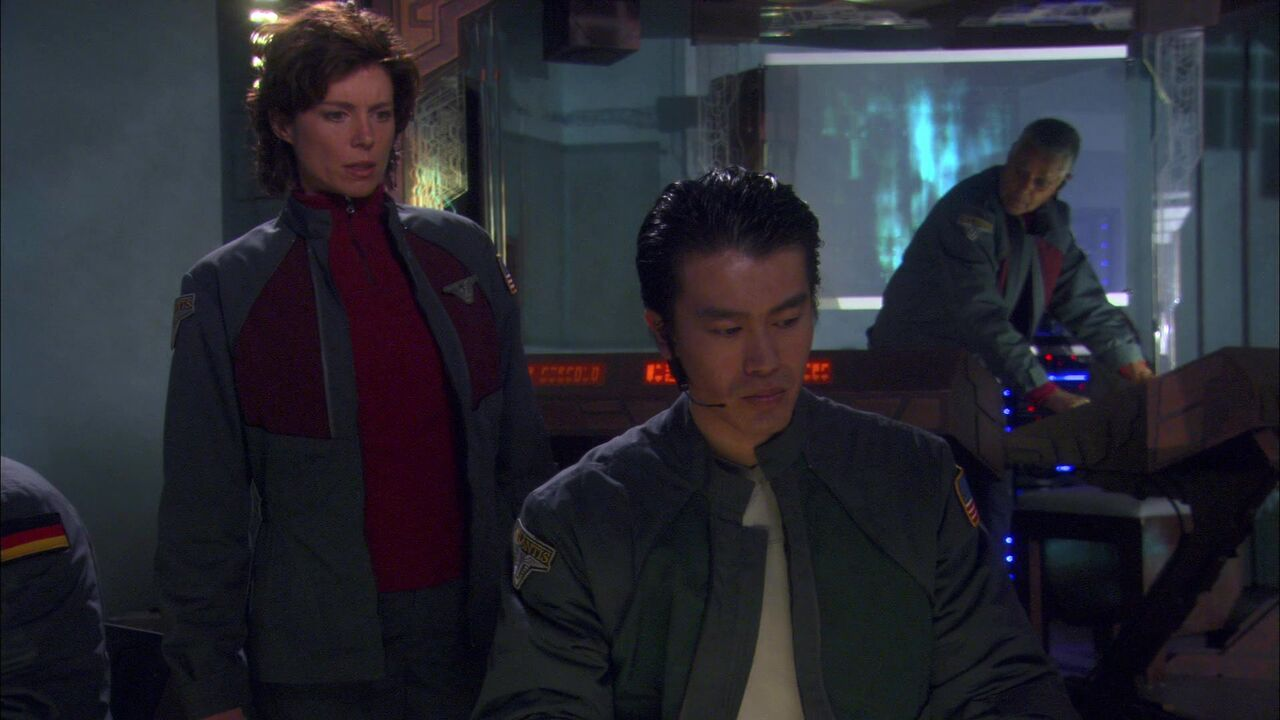 Opérateur de la porte des étoiles d'Atlantis