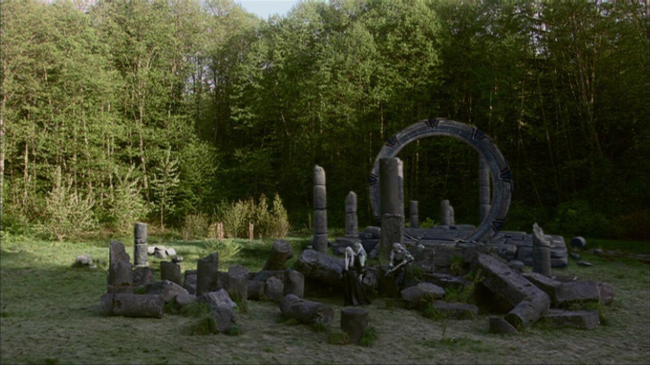 Forêt de ruines