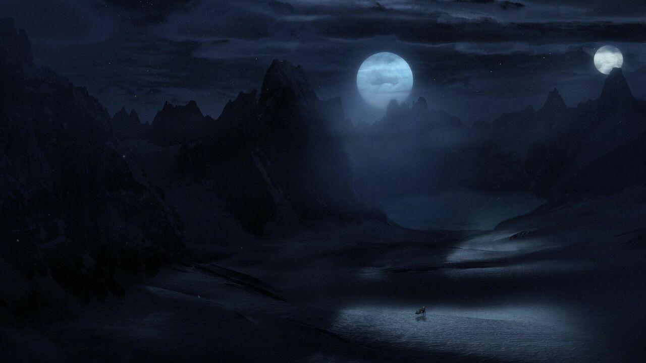 Glacier extraterrestre