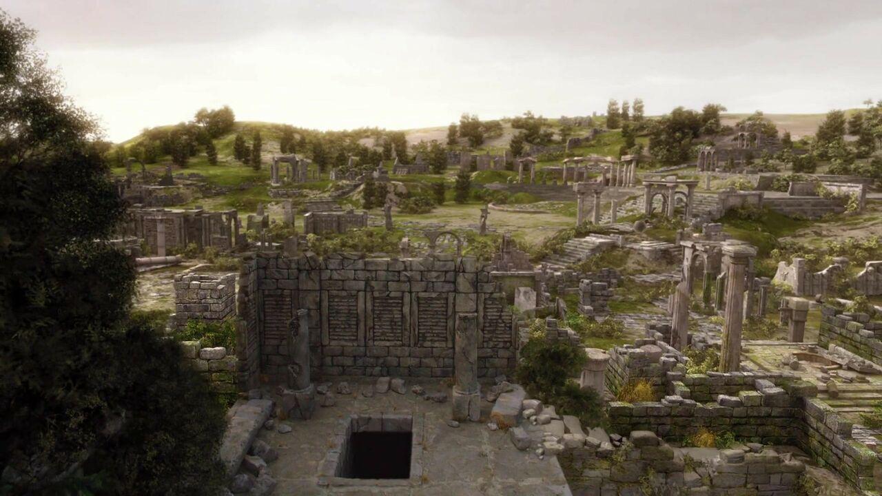 Ruines abandonnées