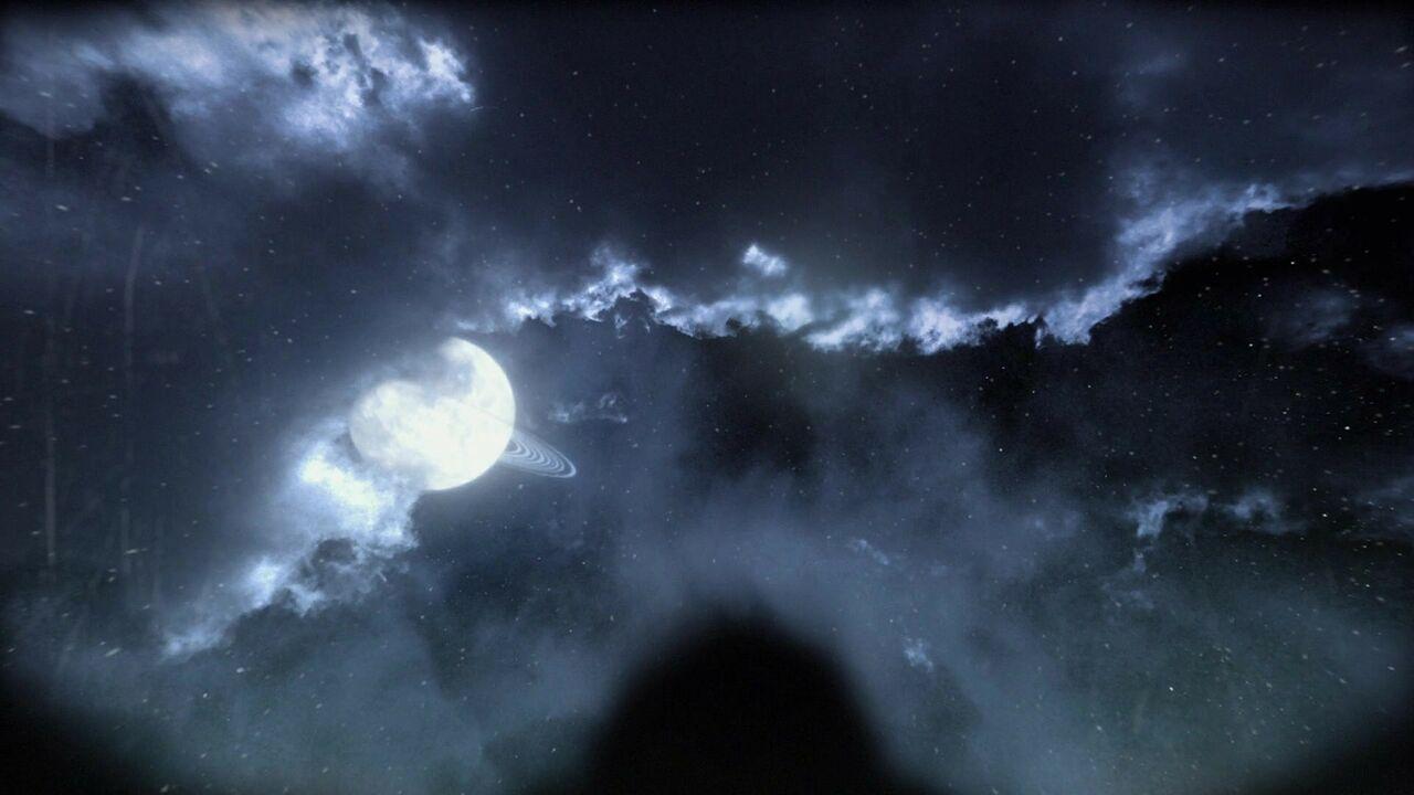 Lune aux anneaux