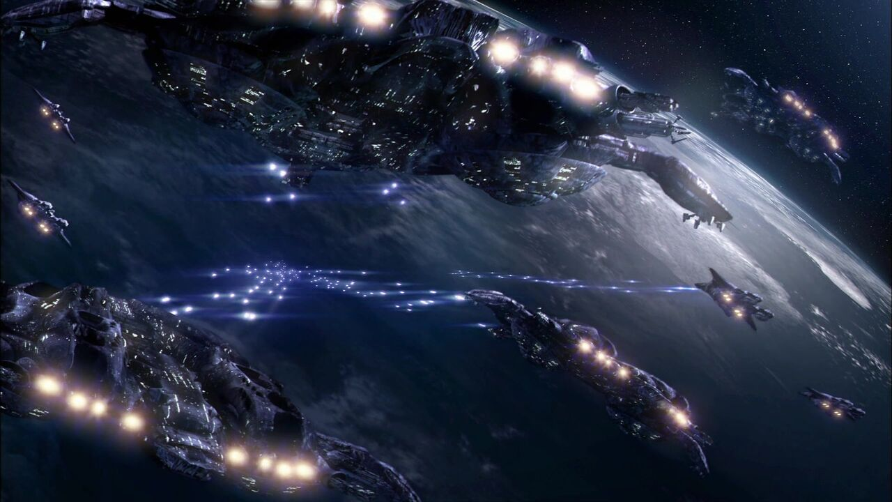 Premier siège d'Atlantis