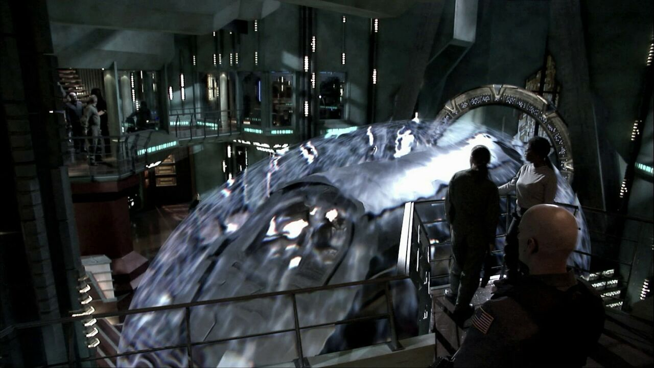Invasion d'Atlantis par Michael