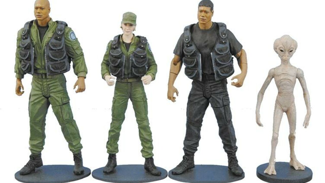 Diamond Select Toys - Ensemble de 4 figurines - Série 2