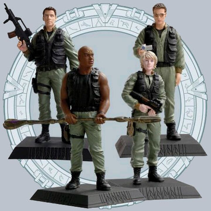 Phoenix Icons - Ensemble de 4 figurines incluant Teal'c