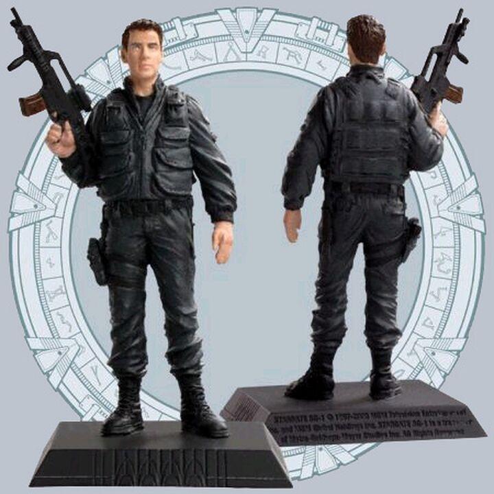 Phoenix Icons - Lieutenant Colonel Cameron Mitchell (Uniforme noir)