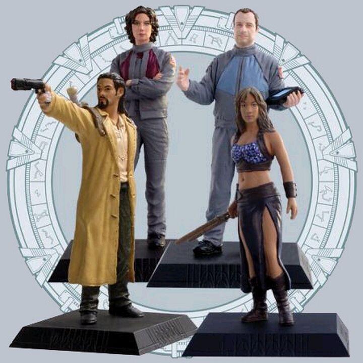 Phoenix Icons - Ensemble de 4 figurines incluant Ronon Dex