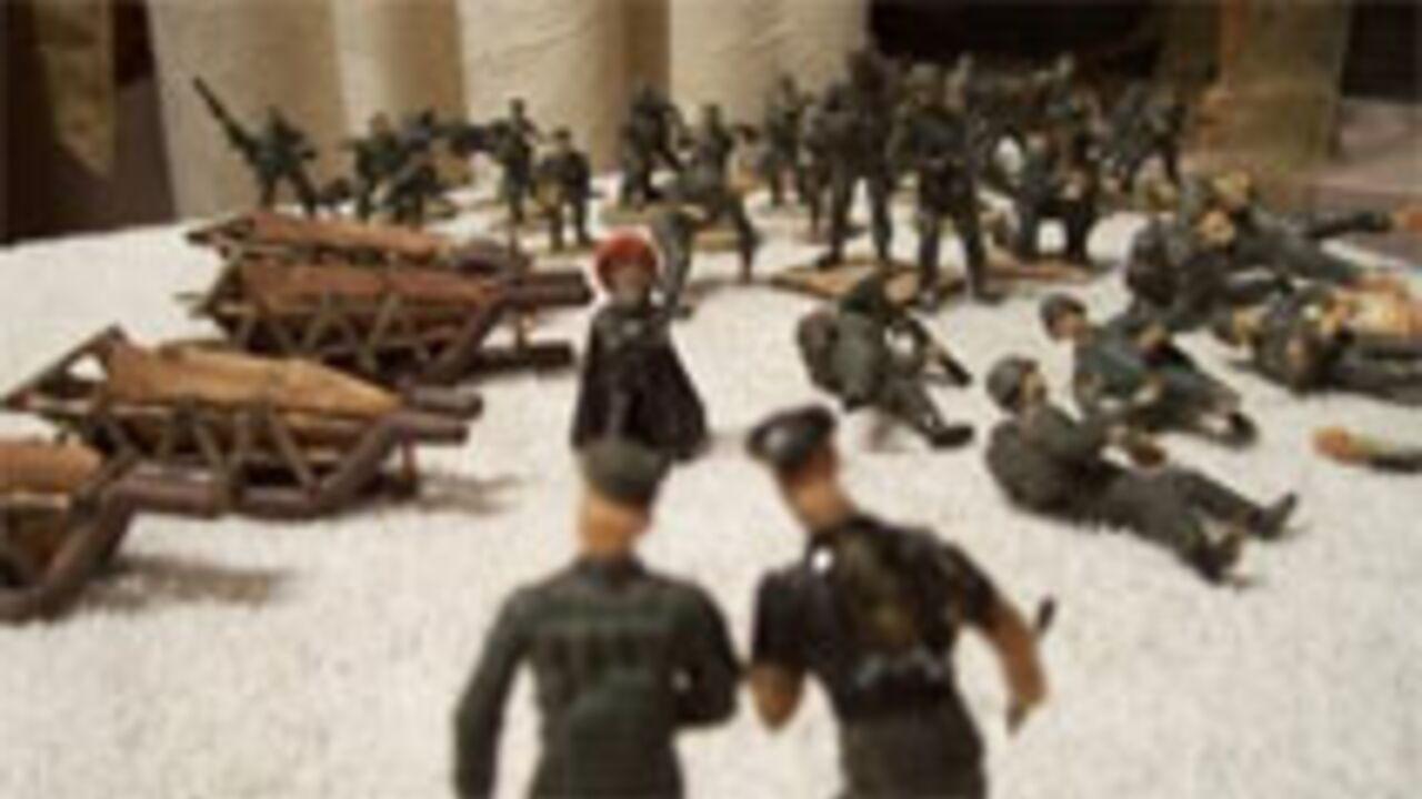 Miniatures des personnages