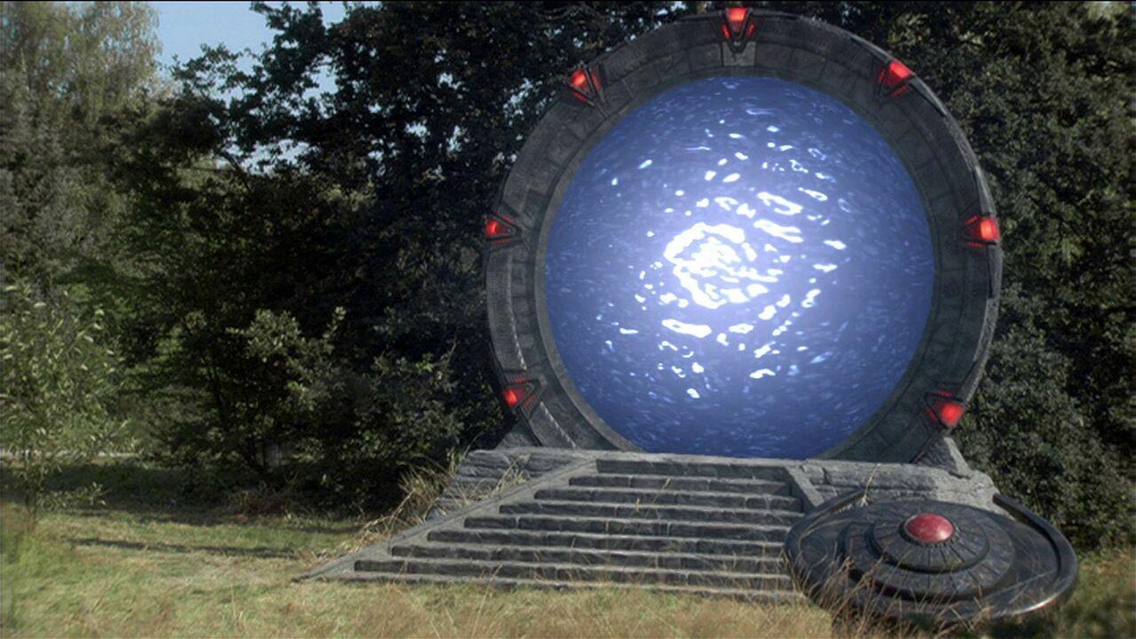 Porte des étoiles lactéenne