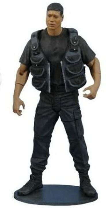 Diamond Select Toys - Teal'c « Blacks Ops » - Série 2