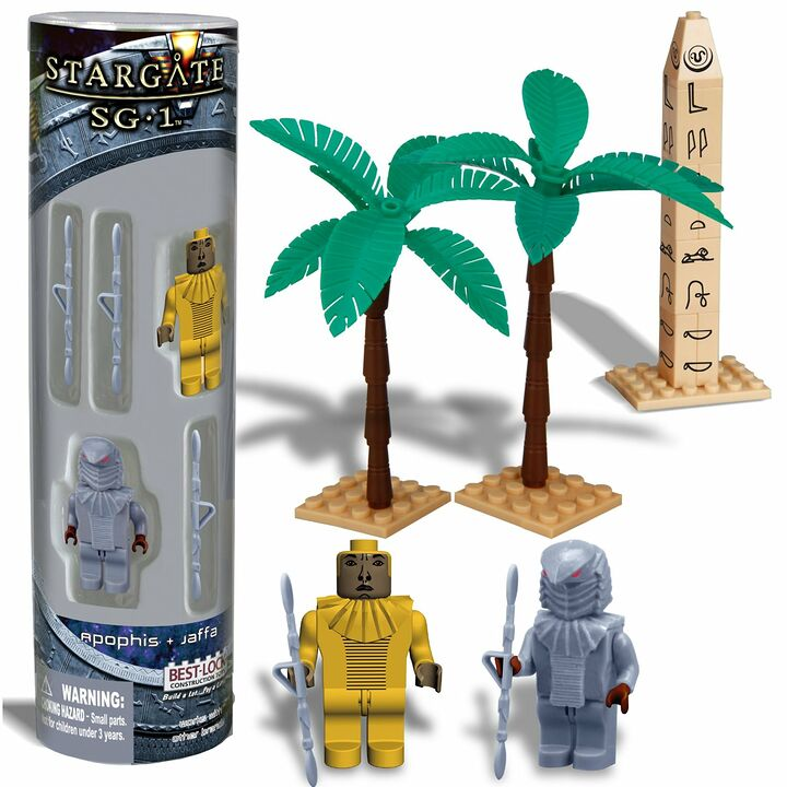 Best-Lock Construction Sets - Apophis and Jaffa