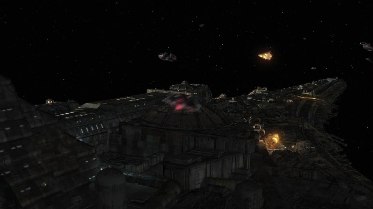 Bataille du vaisseau de commandement des drones