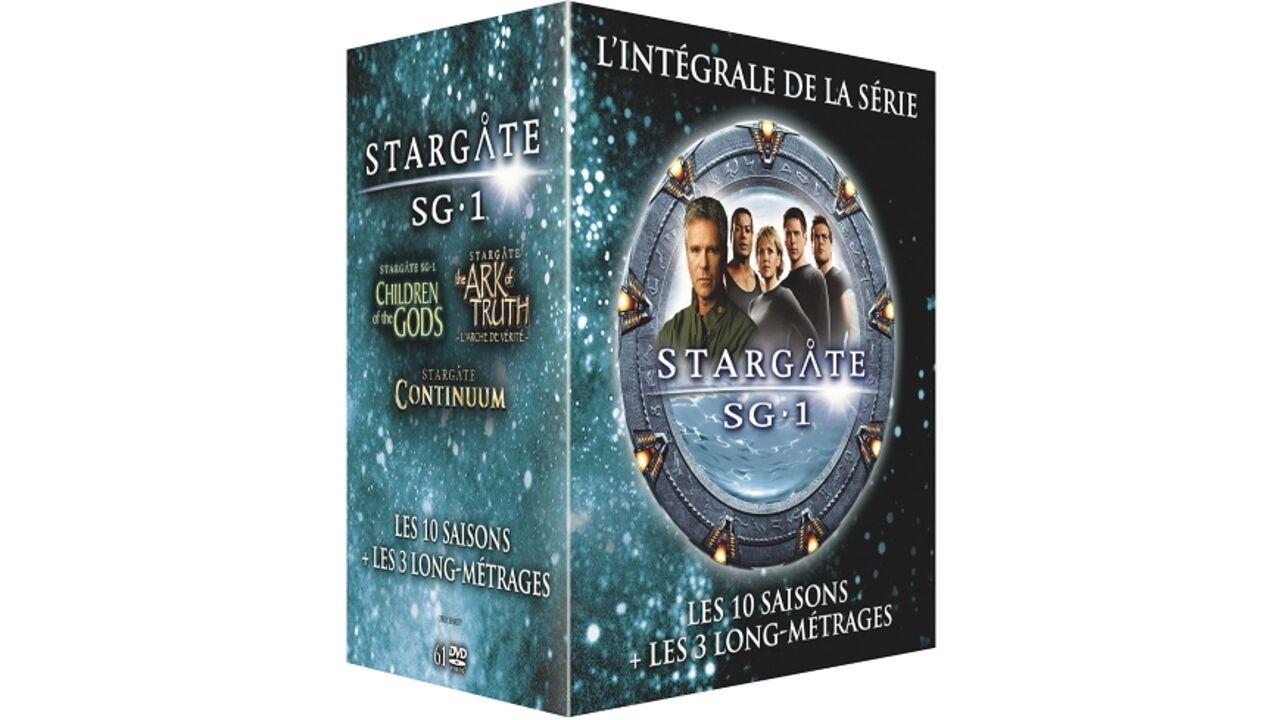 Stargate SG-1 : L'intégrale des 10 Saisons + 3 Films