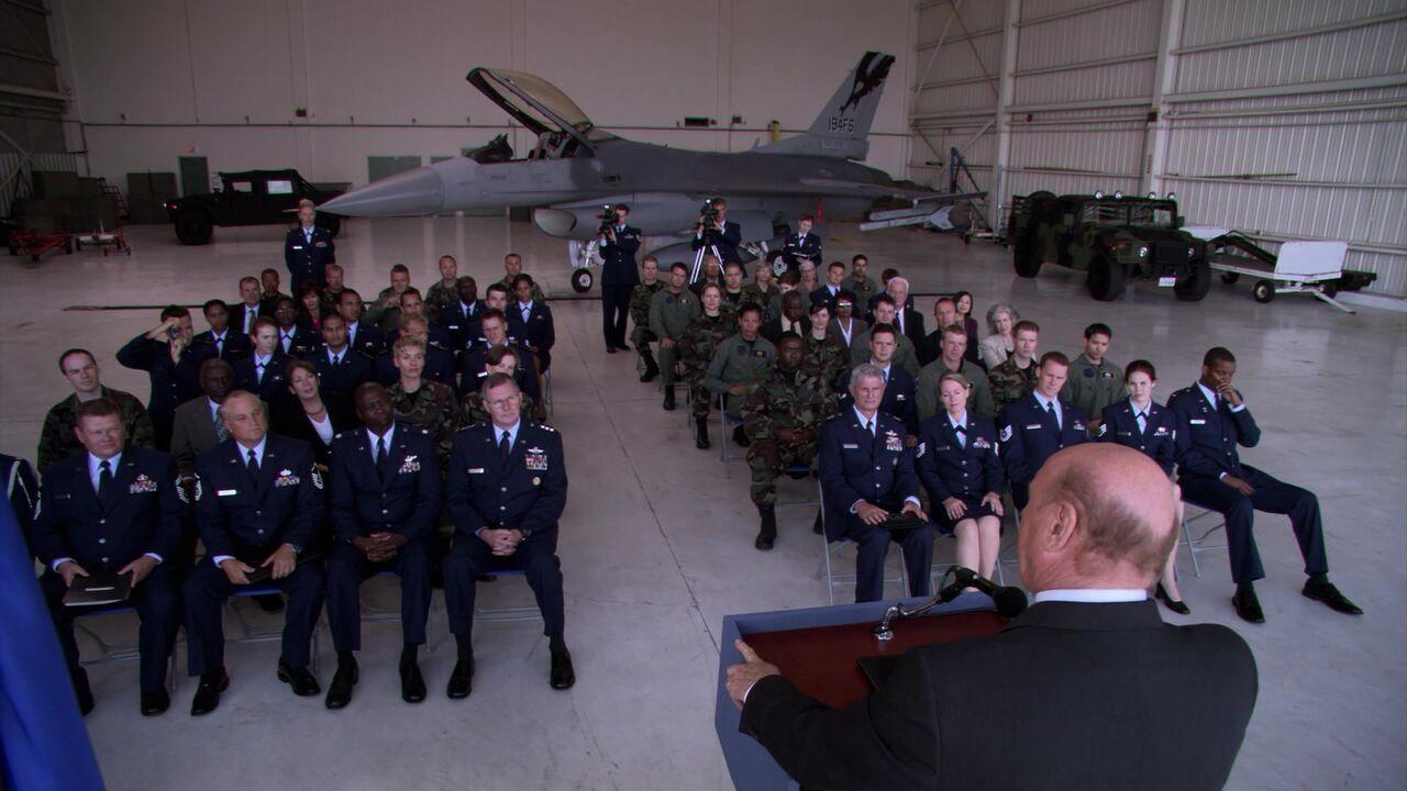 Hangar de l'US Air Force / Piedmont Hawthorne