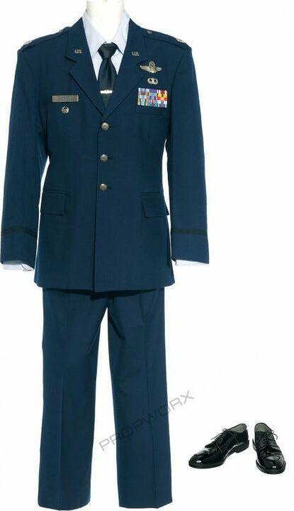 Costume bleu Mitchell