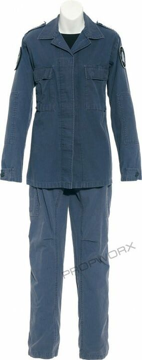 Uniforme bleu Carter
