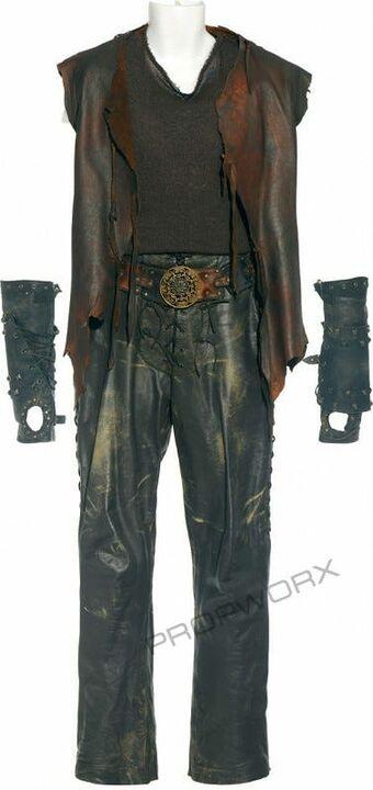 Costume off-world Teal'c