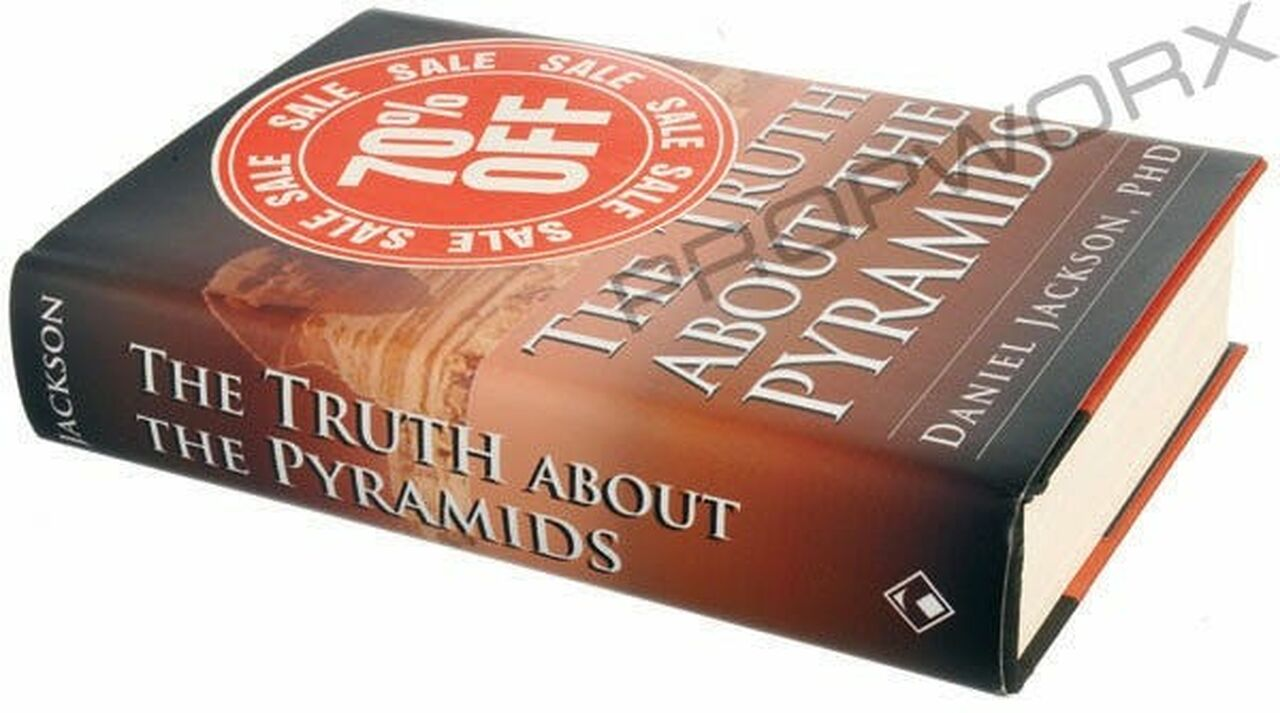 """Livre """"The Truth About the Pyramids"""""""