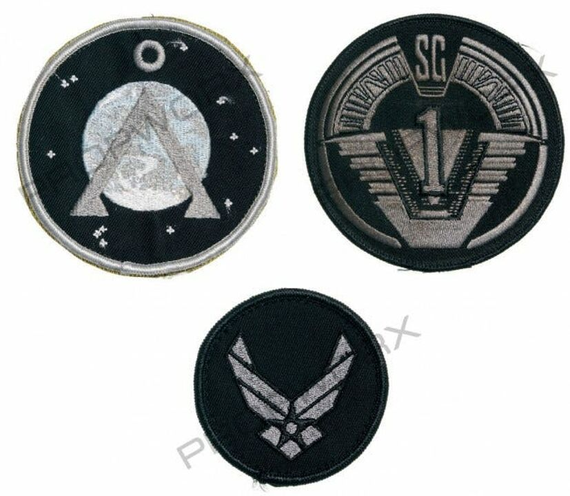 Ecussons SG-1 de Teal'c / Mitchell