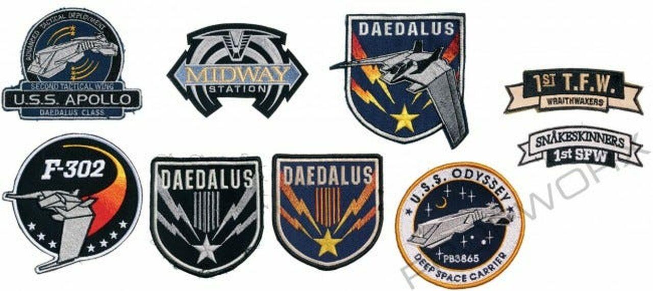 Ecussons Stargate Atlantis