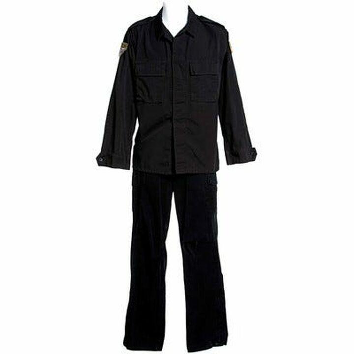 Uniforme noir Sheppard