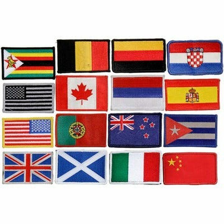 Ecussons drapeaux Atlantis