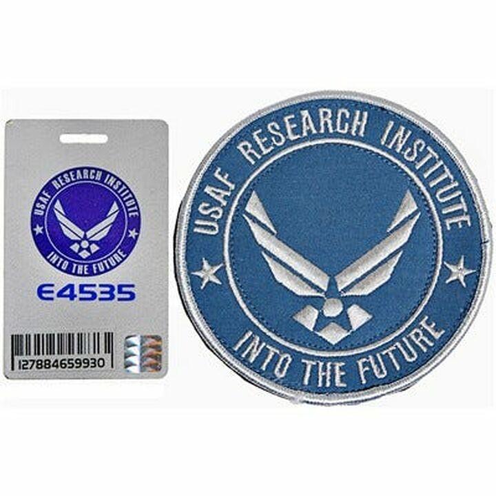 Ecusson + carte d'accès USAF