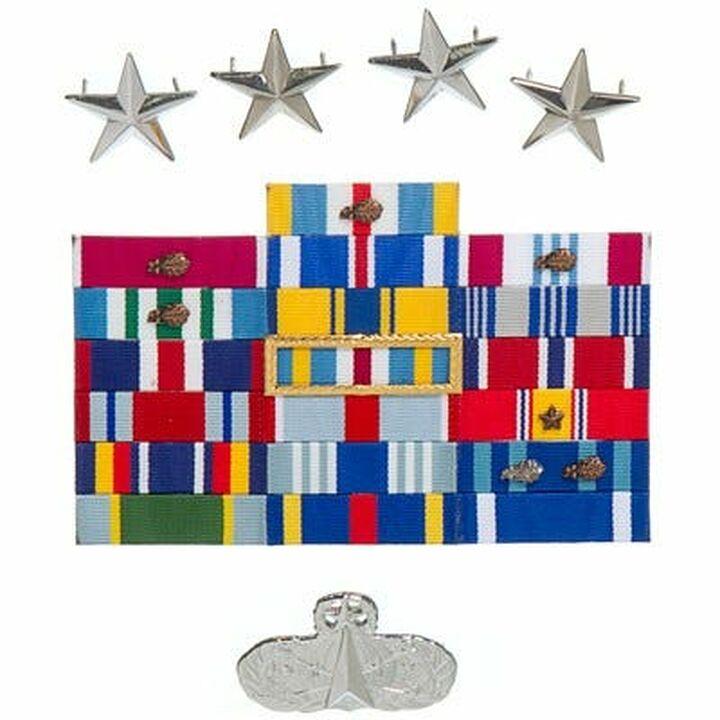 Décorations militaires général Landry