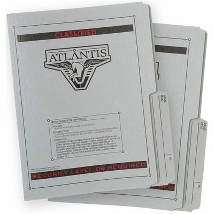 Dossiers de l'expédition Atlantis