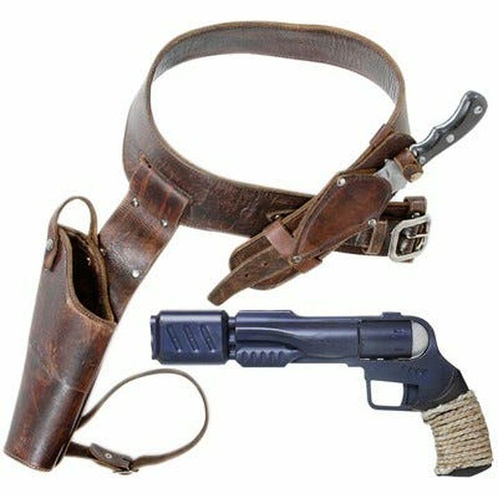 Arme de Ronon + holster + couteau