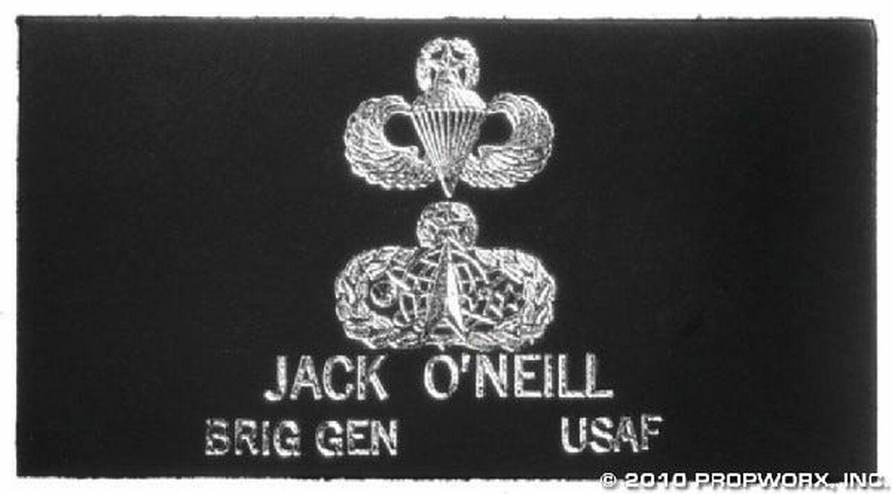 Bande patronyme du général O'Neill