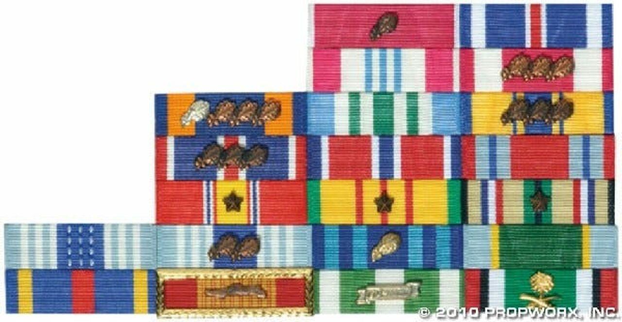 Décorations militaires du général Hammond