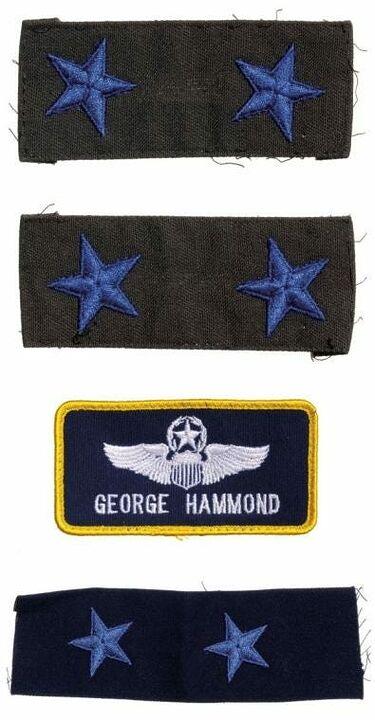 Ecussons du général Hammond