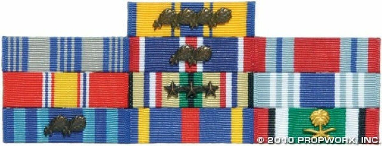 Décorations militaires du docteur Fraiser