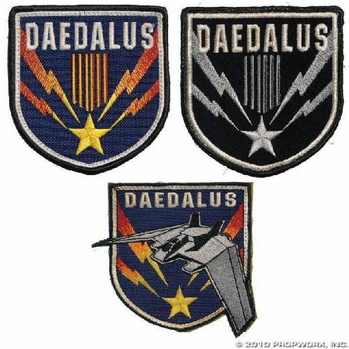 Écussons de l'équipage du Dédale