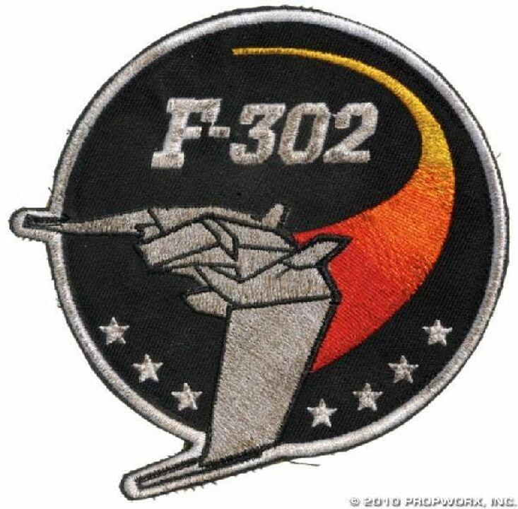 Écusson de pilote F-302